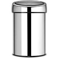 Brabantia Touch Bin 3l, lesklá ocel - Odpadkový koš