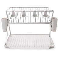 Brabantia Skládací odkapávač na nádobí - velký, světle šedý