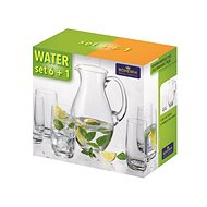 BOHEMIA CRYSTAL Water set 7 pcs - Sada sklenic