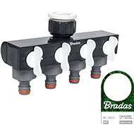 Bradas White Line Tap Connection 4 - Adapter with Male Thread