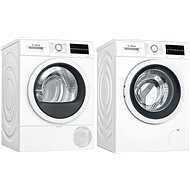 BOSCH WAT24461BY + BOSCH WTR85T00BY - Washer and dryer set