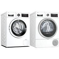 BOSCH WAV28K00CS + BOSCH WTX87KH1BY - Washer and dryer set