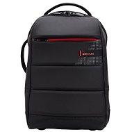 "BESTLIFE Cplus Black 15.6"" černo/červený - Batoh na notebook"