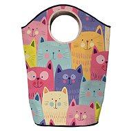 Butter Kings multifunkční pytel cats in colours - Koš na prádlo