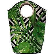 Butter Kings multifunkční pytel green leafs - Koš na prádlo