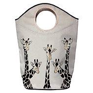 Butter Kings koš na prádlo friendly giraffes - Koš na prádlo