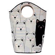 Butter Kings multifunkční pytel black cat - Koš na prádlo