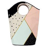 Butter Kings multifunkční pytel geometric composition - Koš na prádlo