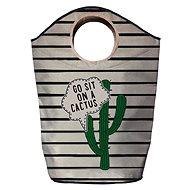 Butter Kings multifunkční pytel sit on cactus - Koš na prádlo
