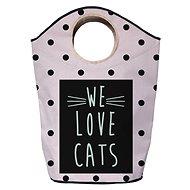 Butter Kings multifunkční pytel we love cats - Koš na prádlo