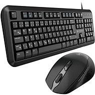 Eternico Essential KD100CS + MSB300 černý - Set klávesnice a myši