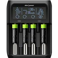 AlzaPower USB Battery Charger AP450B + Rechargeable HR6 (AA) 2500 mAh 4ks - Nabíječka baterií