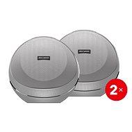 AlzaPower VORTEX V2 stříbrný 2 ks - Set