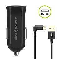 AlzaPower Car Charger X310 + AlzaPower 90Core Micro USB 1m černá