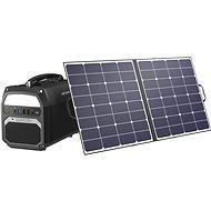 AlzaPower Station PS450 + Solární panel MAX-E 100W - Nabíjecí stanice