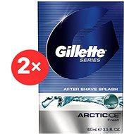GILLETTE Series Arctic Ice 2 × 100 ml - Voda po holení