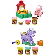 Play-Doh Animal Crew Pig Family + Roaring Horse