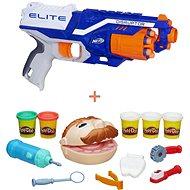 Nerf Elite Disruptor + Play-Doh - Zubař - Sada