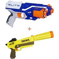 Nerf Elite Disruptor + Nerf Fortnite Sneaky Springer - Dětská pistole