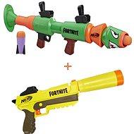Nerf Fortnite Sneaky Springer + Nerf Fortnite RL - Dětská pistole