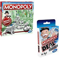 Monopoly new CZ + Monopoly Deal - Board Game
