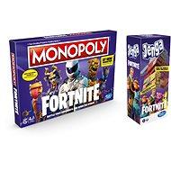 Monopoly Fortnite + Jenga Fortnite - Board Game