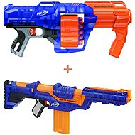 Nerf Delta Trooper + Nerf Elite Surgefire