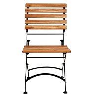 PARKLIFE Skládací židle hnědá/černá - Zahradní židle