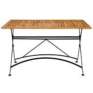 PARKLIFE Stůl 80x130 cm černá/hnědá - Zahradní stůl
