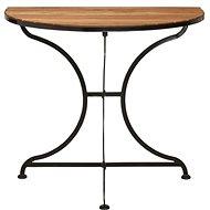 PARKLIFE Balkónový skládací stolek hnědá/černá - Stolek