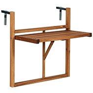 LODGE Balkónový skládací stůl přírodní - Zahradní stůl