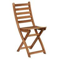 LODGE Skládací židle přírodní - Zahradní židle