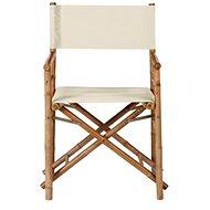 BOLLYWOOD Režisérská židle béžová - Zahradní židle