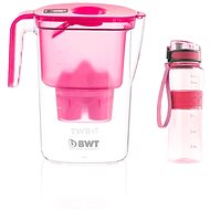 BWT VIDA růžová + outdoor sport bottle peony