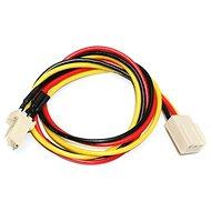 Prodlužovací kabel napájení pro 3pin konektor [chladič] - 0.3m - Napájecí kabel
