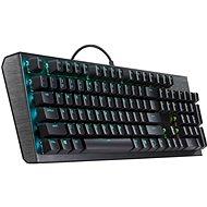 Cooler Master CK550, Red Switch, US layout, černá - Herní klávesnice