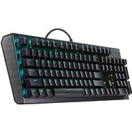 Cooler Master CK550, Blue Switch, US layout, černá - Herní klávesnice