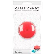Cable Candy Donut růžový  - Organizace kabelů