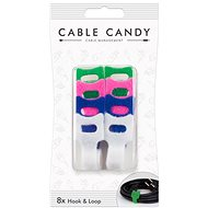 Cable Candy Hook and Loop 8ks mix barev - Organizace kabelů