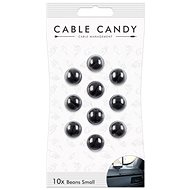 Cable Candy Small Beans 10-pack black - Cable Management