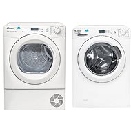 CANDY CS 1271D3 / 1-S + CANDY CS H7A2LE-S - Washer and dryer set