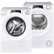 CANDY RO 1496DWH7/1-S + CANDY RO H9A2TE-S - Washer and dryer set