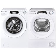 CANDY RO 1496DWMCE / 1-S + CANDY RO H9A3TE-S - Washer and dryer set