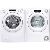 CANDY CS 1482DE / 1-S + CANDY CSO H8A3TE-S - Washer and dryer set