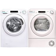 CANDY CS 1482DE / 1-S + CANDY CSO H8A2DE-S - Washer and dryer set