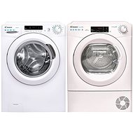 CANDY CS 1272DE / 1-S + CANDY CSO H7A3TE-S - Washer and dryer set