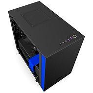 NZXT H200i matná černá/modrá - Počítačová skříň