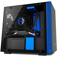 NZXT cabinet H200 black and blue - PC Case