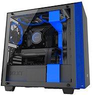 NZXT H400i černo-modrá - Počítačová skříň