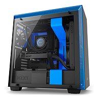 NZXT H700 černo-modrá - Počítačová skříň